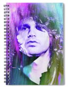 Faces Come Out Of The Rain Spiral Notebook