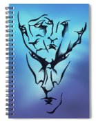 Faces Spiral Notebook