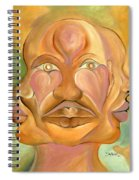 Faces Of Copulation Spiral Notebook