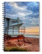 Facing The Dawn Spiral Notebook