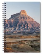 Factory Butte 0761 Spiral Notebook