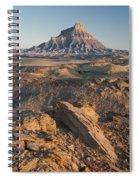 Factory Butte 0768 Spiral Notebook