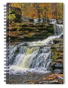 Factory Falls - Childs State Park Spiral Notebook
