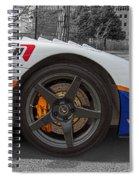 Factory Five Racing Car Spiral Notebook