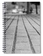 Fade Out Lines Spiral Notebook