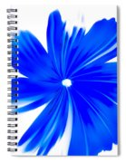 Faded Blue Spiral Notebook