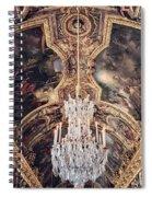 Faded Chandelier  Spiral Notebook