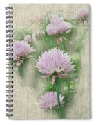 Faded Floral 11 Spiral Notebook