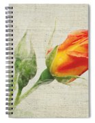 Faded Floral 9 Spiral Notebook