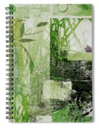 Faded Floral Spiral Notebook