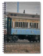 Faded Glory - B And O Railroad Car Spiral Notebook
