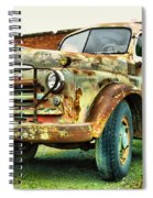 Faded Relic  Spiral Notebook