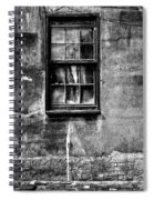 Faded With Time II B-w Spiral Notebook