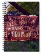 Fading Away Spiral Notebook