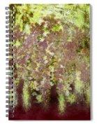 Fading Summer Spiral Notebook