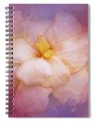 Fading Summer Flower Spiral Notebook