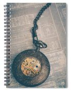 Fading Time Spiral Notebook