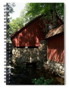 Fagervik Gard Panorama 1 Spiral Notebook
