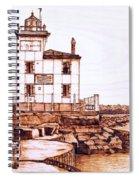 Fair Port Harbor Spiral Notebook