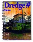 Fairbanks Alaska Gold Dredge 8 Shirt Spiral Notebook
