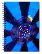 Fairground Abstract Vi Spiral Notebook