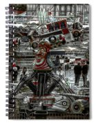 Fairground Narrative Spiral Notebook
