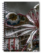 Fairground Rides Spiral Notebook