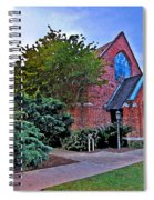 Fairhope Alabama Methodist Church Spiral Notebook