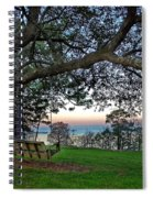 Fairhope Swing On The Bay Spiral Notebook