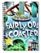 Fairly Odd Coaster Spiral Notebook