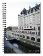 Fairmont Chateau Laurier - Ottawa Spiral Notebook