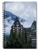 Fairmont Springs Hotel In Banff, Canada Spiral Notebook
