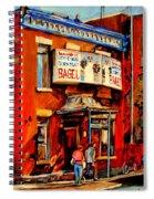 Fairmount Bagel Montreal Spiral Notebook