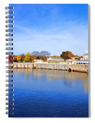 Fairmount Water Works - Philadelphia Spiral Notebook
