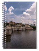 Fairmount Water Works And Philadelphia Museum Of Art Spiral Notebook