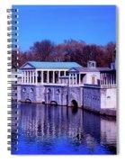 Fairmount Water Works - Philadelphi Spiral Notebook