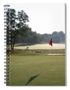 Fairway Hills - 2nd  - Toughest Par 5 In The Universe Spiral Notebook