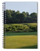 Fairway Hills - 3rd - A Bridge And Marsh To This Par 3 Spiral Notebook