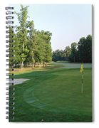 Fairway Hills - 4th - A Straight-in Par 4 Spiral Notebook