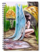 Fairy Amongst Poison Spiral Notebook