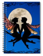 Fairy Couple Spiral Notebook