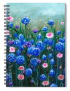 Fairy Dust Meadow Spiral Notebook