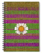 Fairy Forest In Gold Spiral Notebook