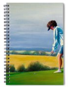 Fairy Golf Mother Spiral Notebook