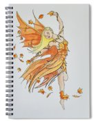Fall Fairy Spiral Notebook