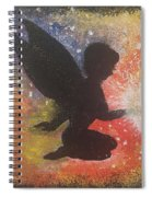 Fairy Life Happiness  Spiral Notebook