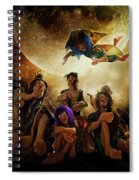 Fairy Night Chat Spiral Notebook