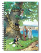Fairy-tale Pushkin Lukomorye Spiral Notebook