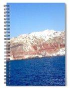 Fairy To Santorinii Spiral Notebook