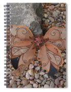Fairy Wings- Brown Spiral Notebook